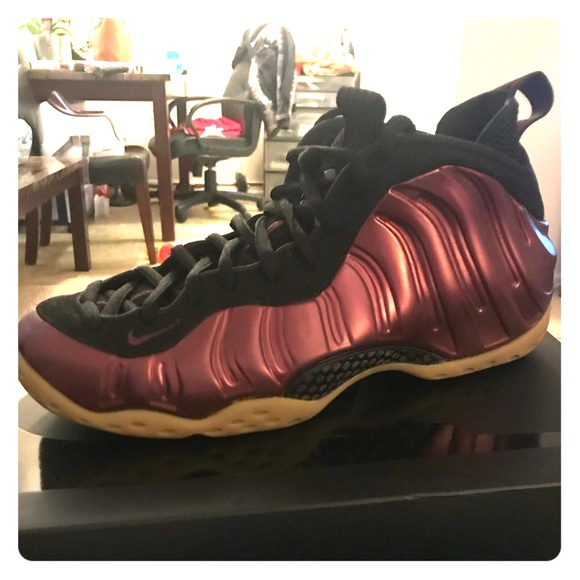buy online 93240 7f801 Foamposites peanut butter and jelly lightly used